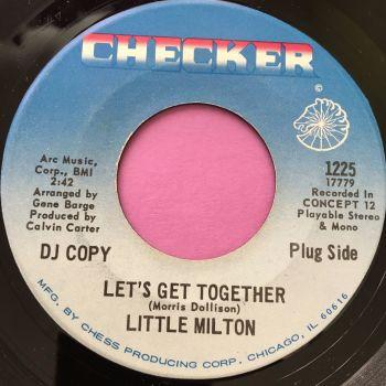 Little Milton-Let's get together-Checker E+