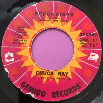 Chuck Ray-Reconsider-Gemigo E
