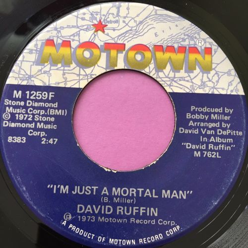 David Ruffin-I'm just a mortal man-Motown E+