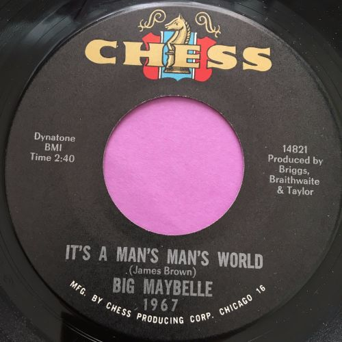Big Maybelle-It's a mans man's world-Chess E+