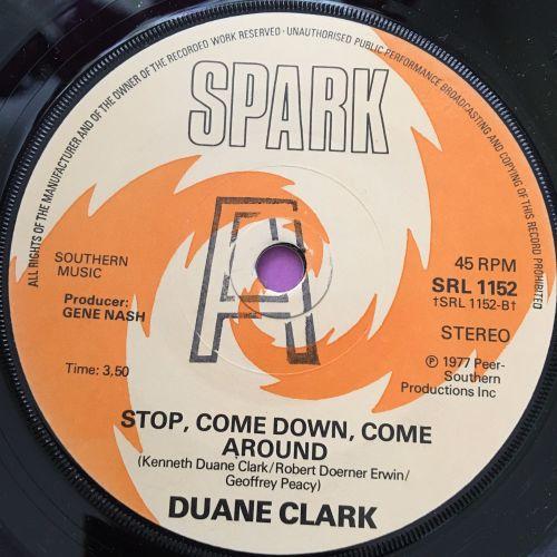 Duane Clark-Stop come down come around-UK Spark M-