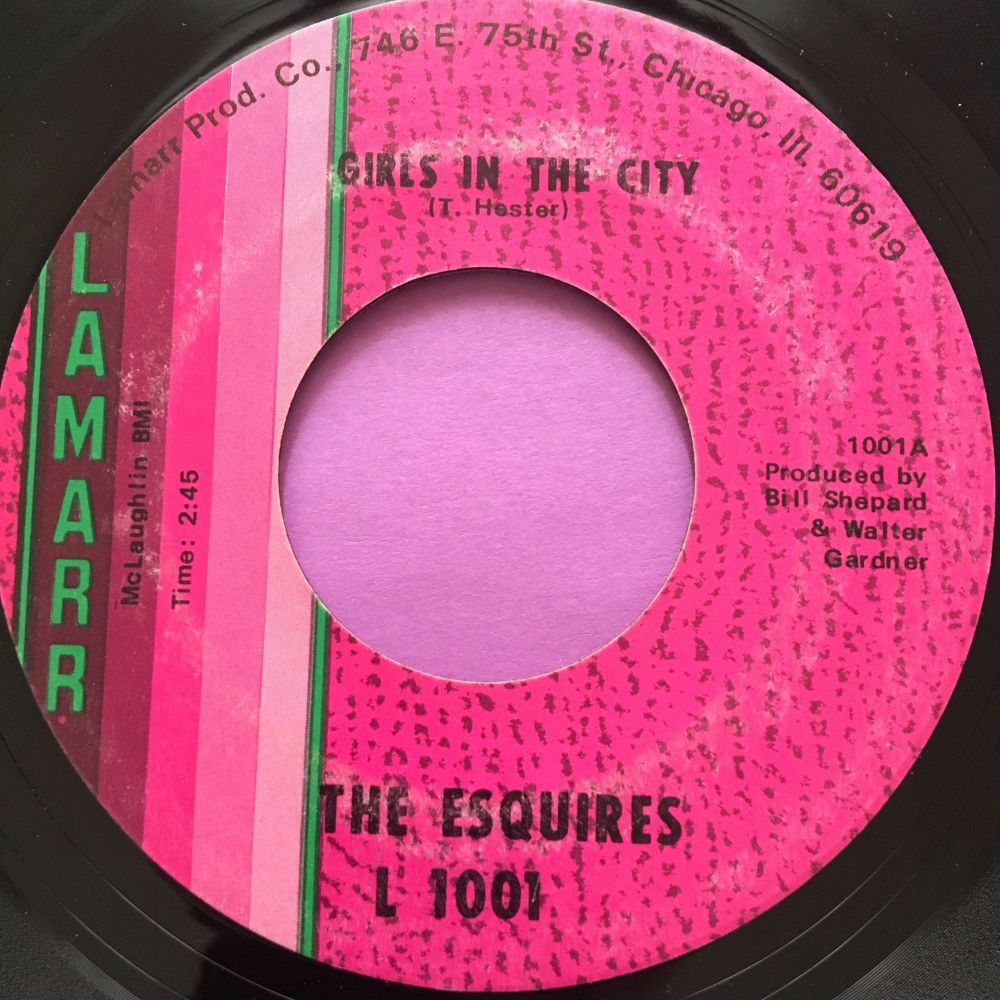 Esquires-Girls in the city-Lamarr E+