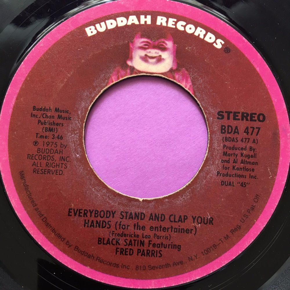 Black Satin-Everybody stand clap your hands-Buddah E+