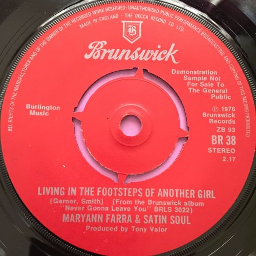 Maryann Farra-Living in the footsteps of another girl-UK London Demo E
