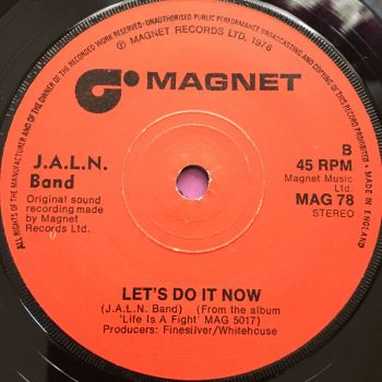 J.A.L.N Band-Let's do it now-UK Magnet E+