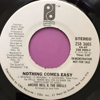 Archie Bell-Nothing comes easy-PIR WD E+