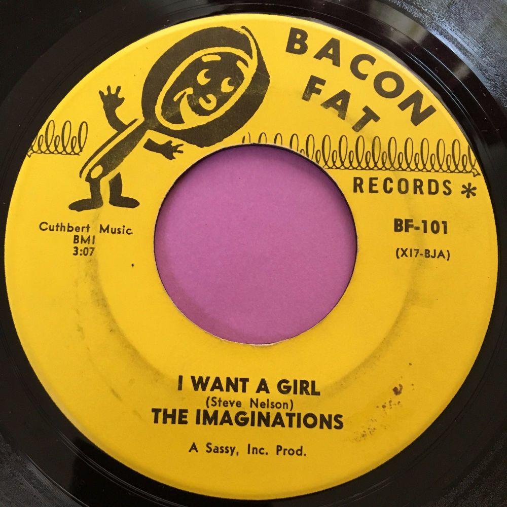 Imaginations-I want a girl-Bacon fat E+