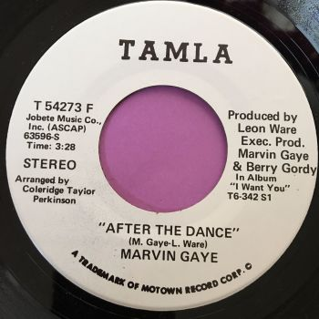 Marvin Gaye-After the dance-Tamla WD E+