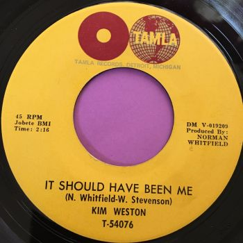 Kim Weston-It should have been me-Tamla E+