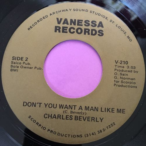 Charles Beverly-Don't you want a man like me-Vanessa E+