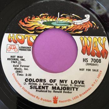 Silent Majority-Colors of my love-Hot wax E+