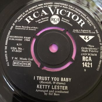 Ketty Lester-I trust you baby-UK RCA E