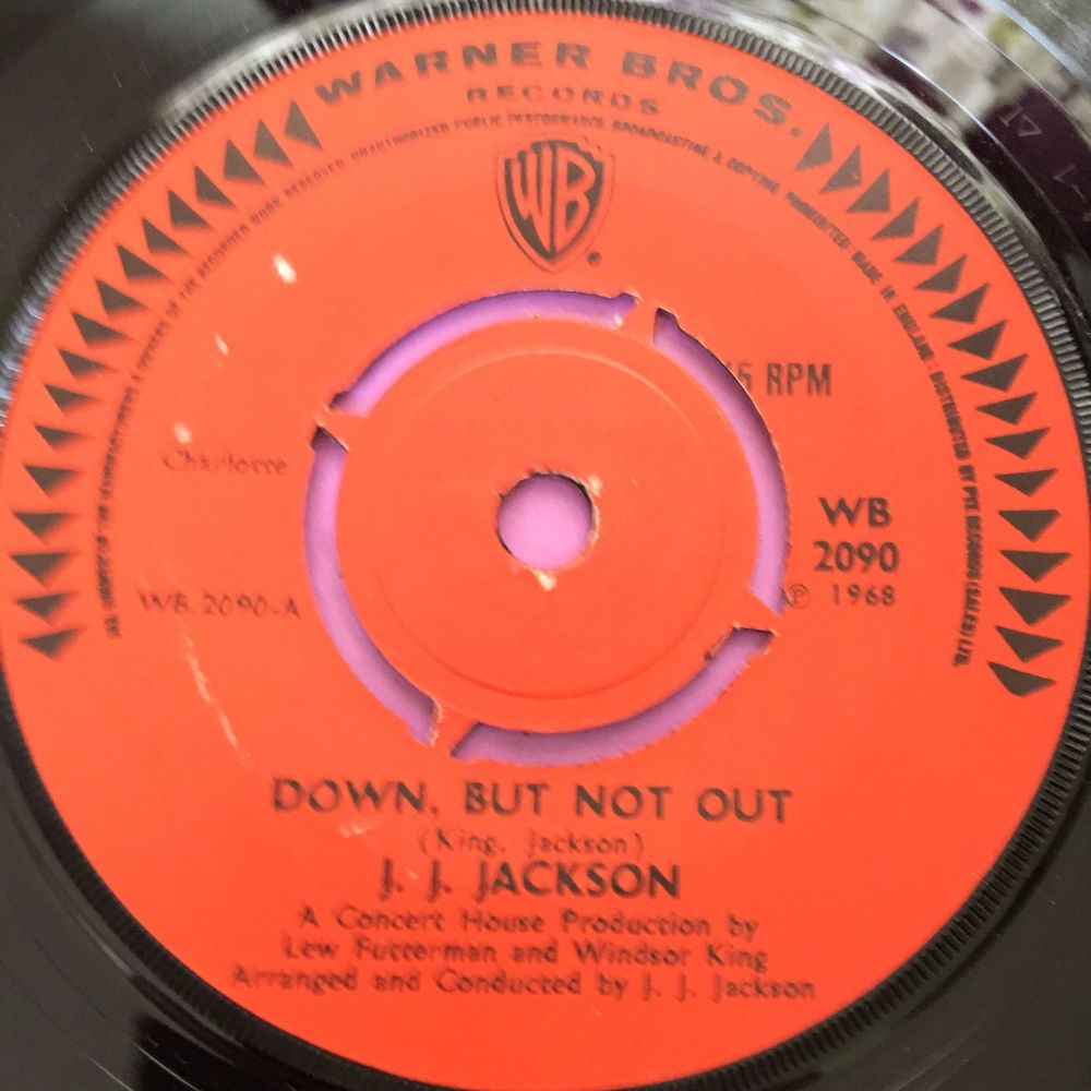 J.J Jackson-Down but not out-UK WB E+