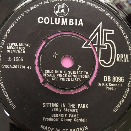 Georgie Fame-Sitting in the park-UK Columbia vg+