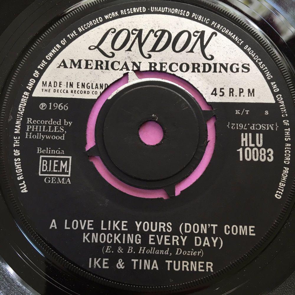 Ike & Tina Turner-A love like yours-UK London E