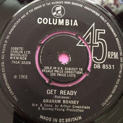 Graham Bonney-Get ready-UK Columbia E+