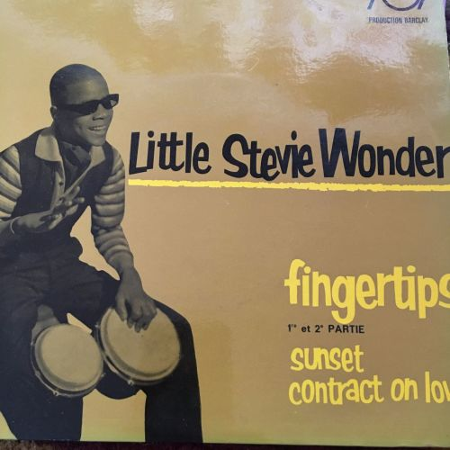 Stevie Wonder-Fingertips-French Barclay EP E