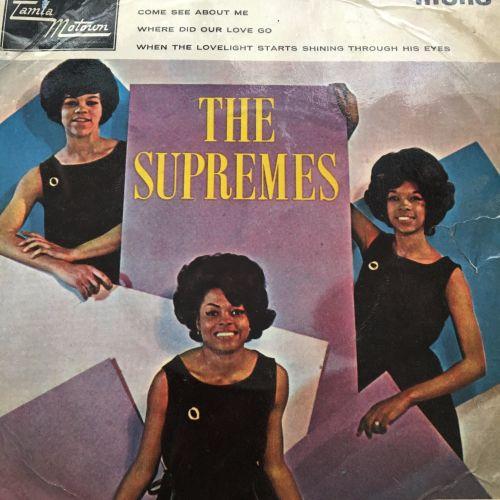Supremes-Supremes Hits EP-UK TMG PS vg+