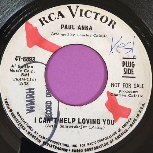 Paul Anka-I can't help loving you-RCA WD wol E+