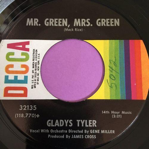Gladys Tyler-Mr Green,Mrs Green-Decca E+