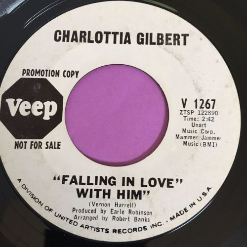 Charlotta Gilbert-Falling in love with him-Veep WD vg+