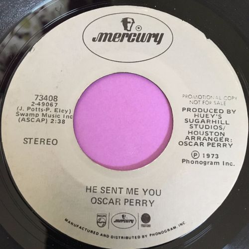Oscar Perry-He sent me you-Mercury E+