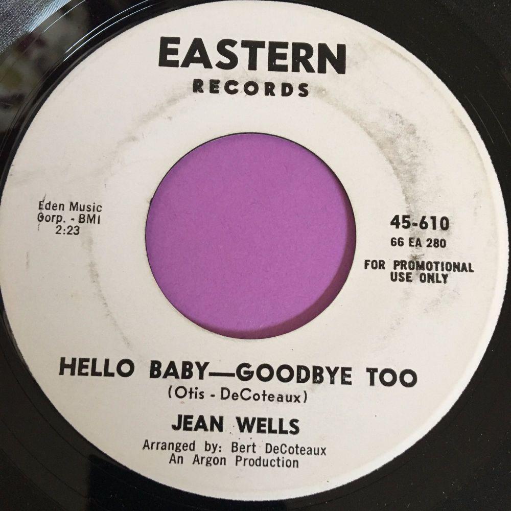 Jean Wells-Hello Baby-Goodbye too-Eastern WD E+