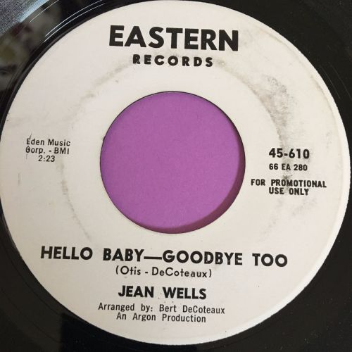 Jean Wells-Hello Baby-Goodbye too-Eastern WD E+
