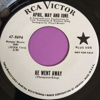 April May and June-She went away-RCA WD M-