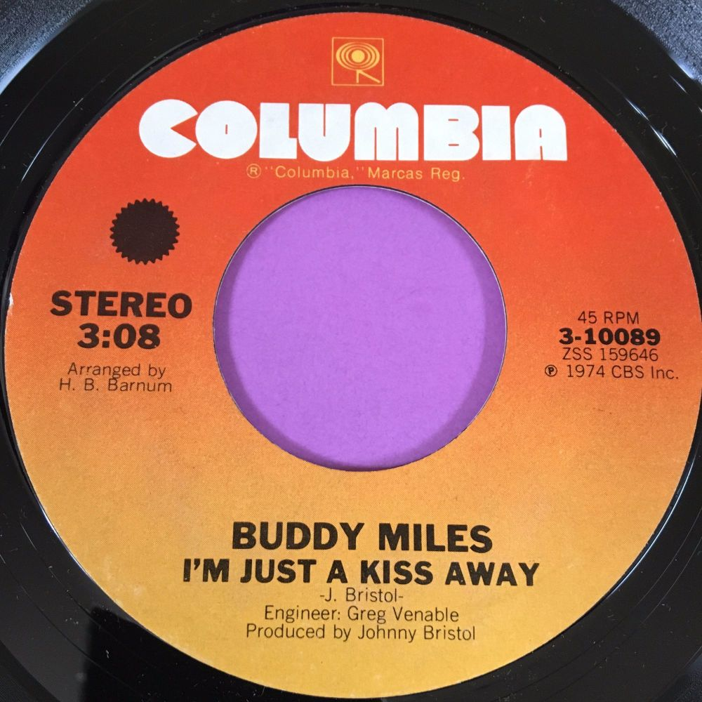 Buddy Miles-Just a kiss away-Columbia M-