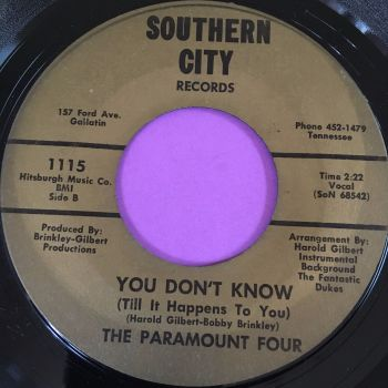 *Paramount Four-You don't know-Southern City E+