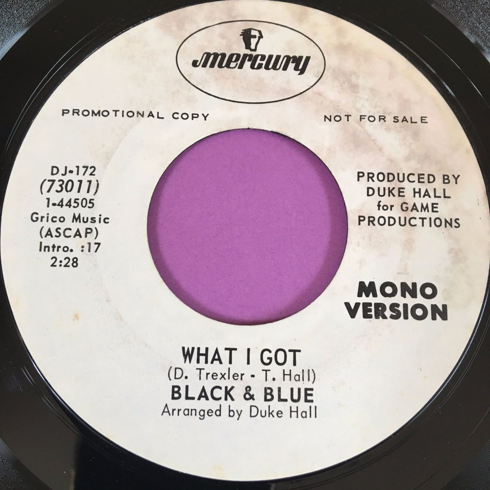 Black & Blue-What I got-Mercury WD E+