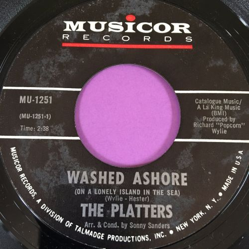 Platters-Washed ashore-Musicor E+