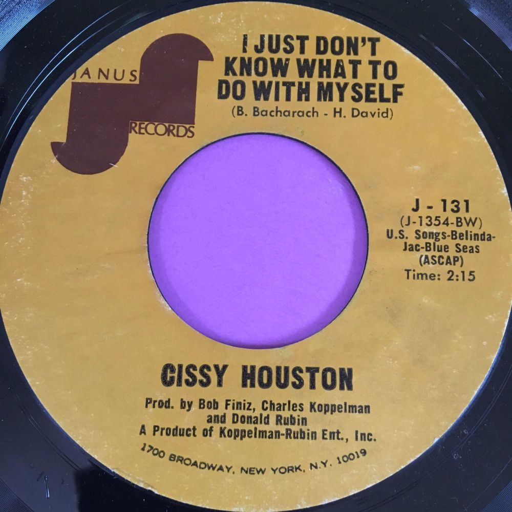 Cissy Houston-I just don't know what to do with myself-Janus E+