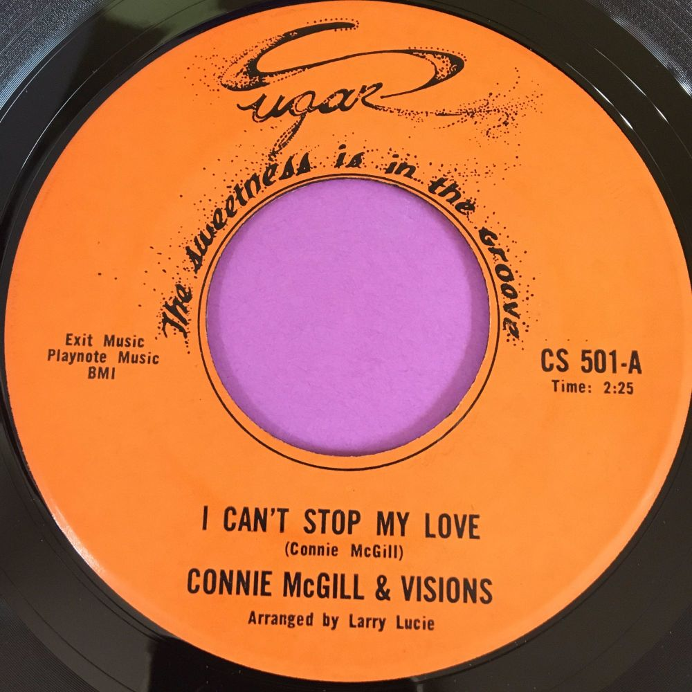 Connie McGill-I can't stop my love-Sugar E+