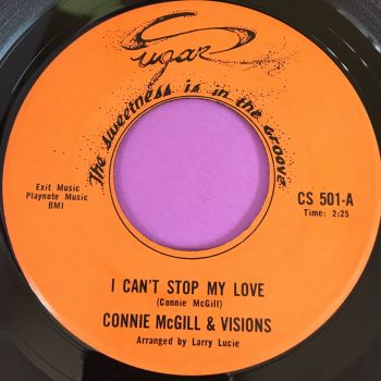 Connie McGill-I can't stop my love-Sugar E+