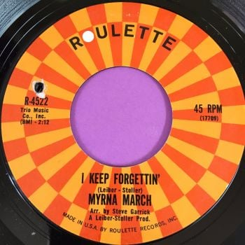 Myrna March-I keep forgetting-Roulette E+