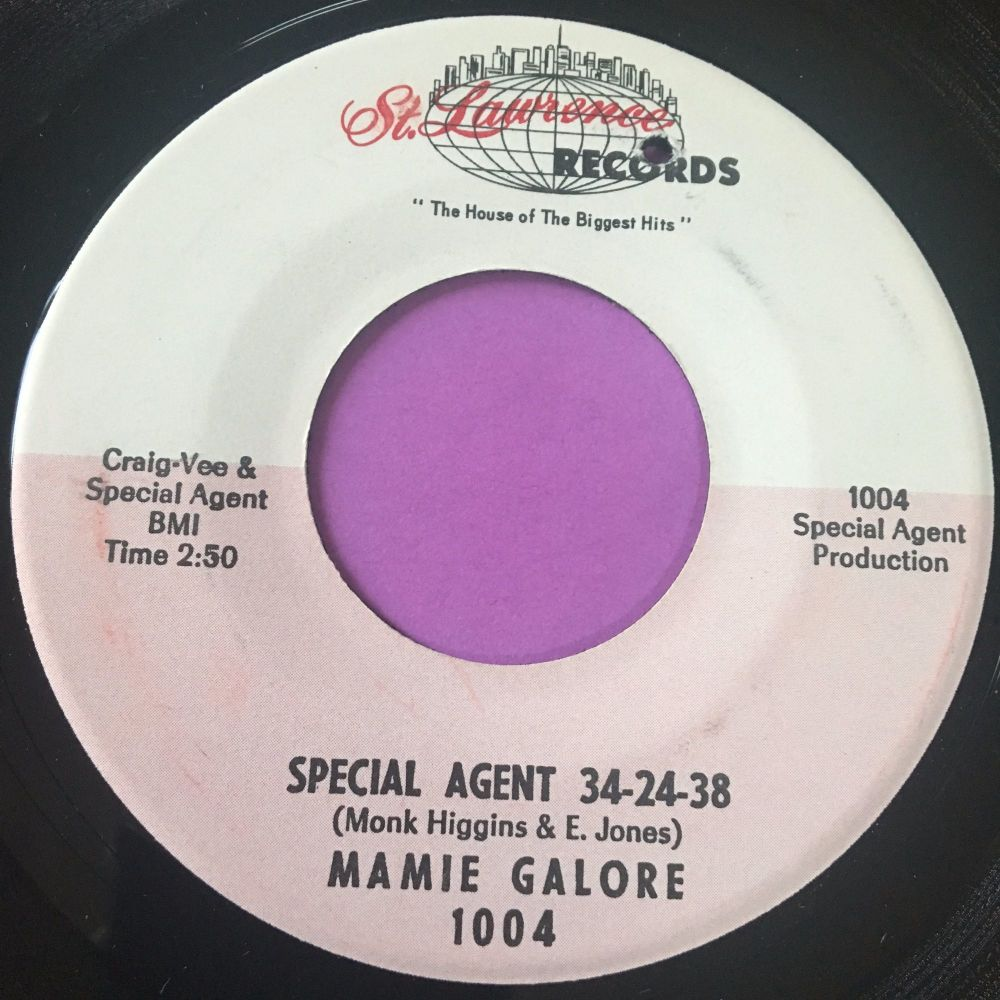 Mamie Galore-Special agent 34-24-38-St Lawrence E+
