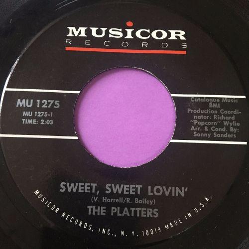 Platters-Sweet sweet lovin'-Musicor E+