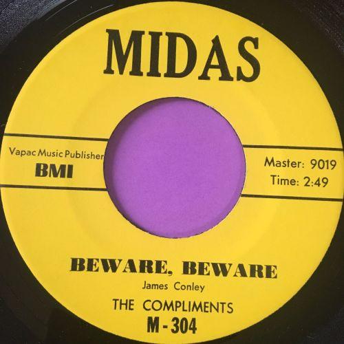 Compliments-Beware beware-Midas M-