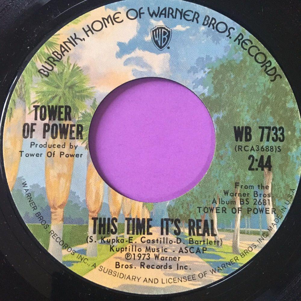 Tower of power-This time it's real-WB E+