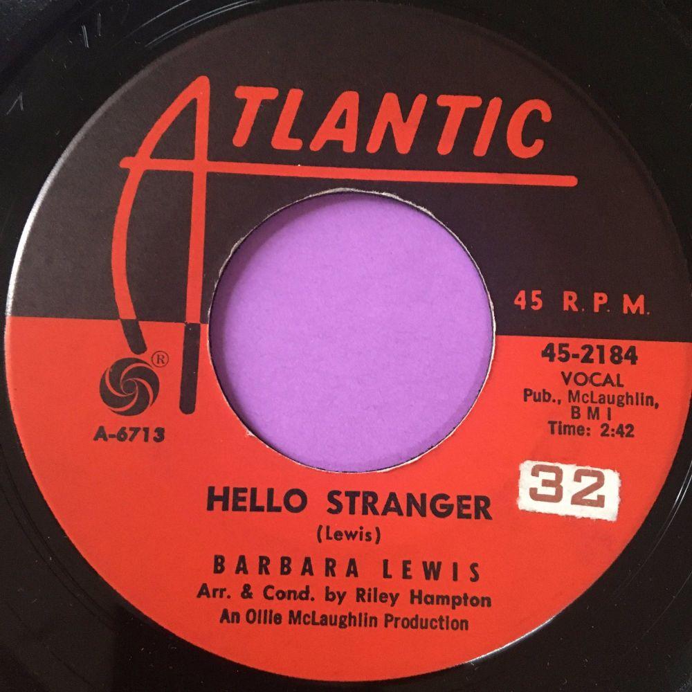 Barbara Lewis-Hello stranger-Atlantic stkr E+