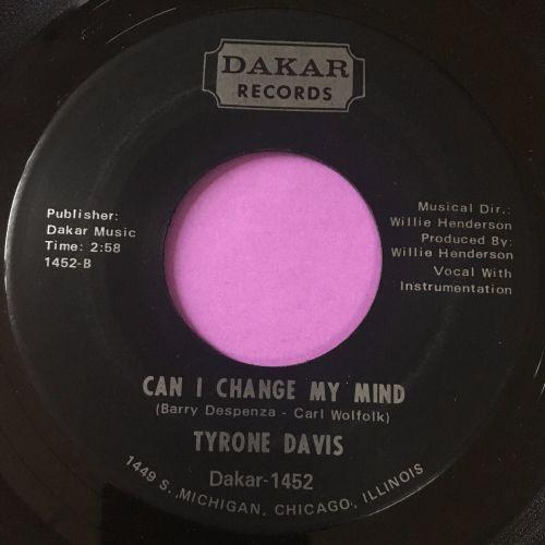 Tyrone Davis-Can I change my mind-Dakar E+