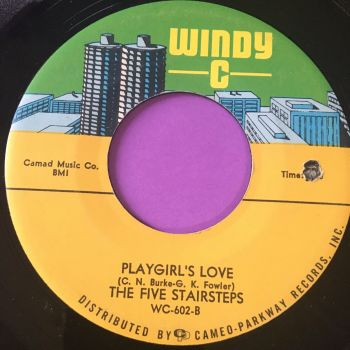 Five Stairsteps-Playgirl's love-Windy C E+