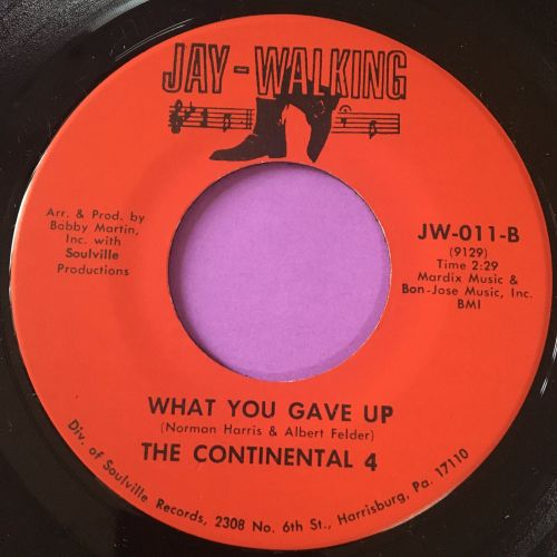 Continental Four-What you gave up-Jay walking M-