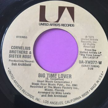 Cornelius Brothers and Sister Rose-Big time lover-UA E+