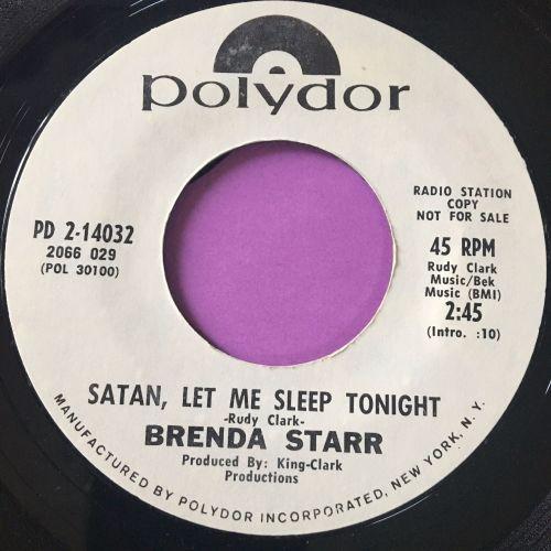 Brenda Starr-Satan, let me sleep tonight-Polydor WD E+