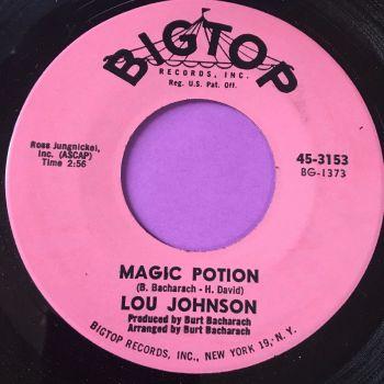 Lou Johnson-Magic Potion/Reach out for me-Bigtop E+