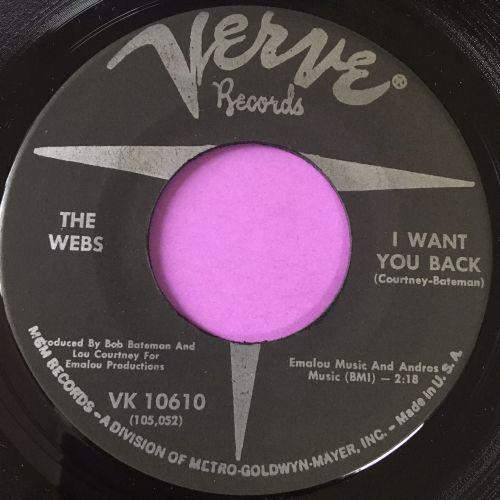 Webs-I want you back-Verve E+