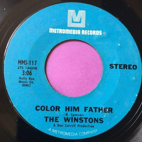 Winstons-Color him father-Metromedia E+